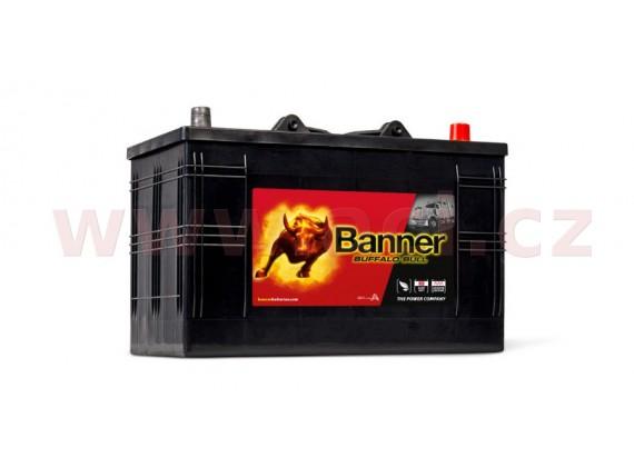 110Ah baterie 800A, pravá BANNER Buffalo Bull 344x172x214(230)
