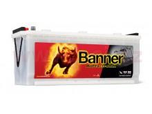 120Ah baterie, 720A, levá BANNER Buffalo Bull 514x189x195(220)