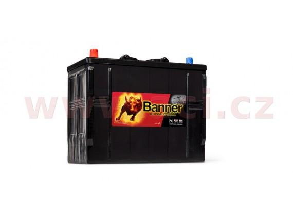 125Ah baterie, 760A, levá BANNER Buffalo Bull 345x172x260(283)