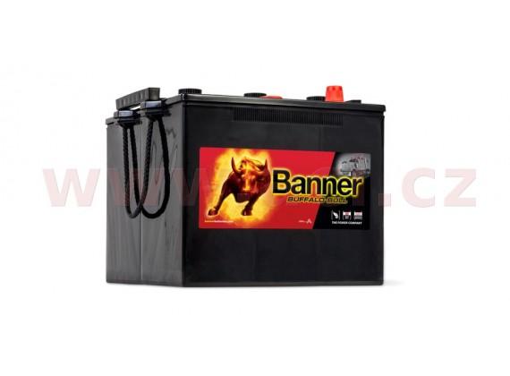 125Ah baterie 720A BANNER pro užitková vozidla NATO 6TN 280x267x213(230)