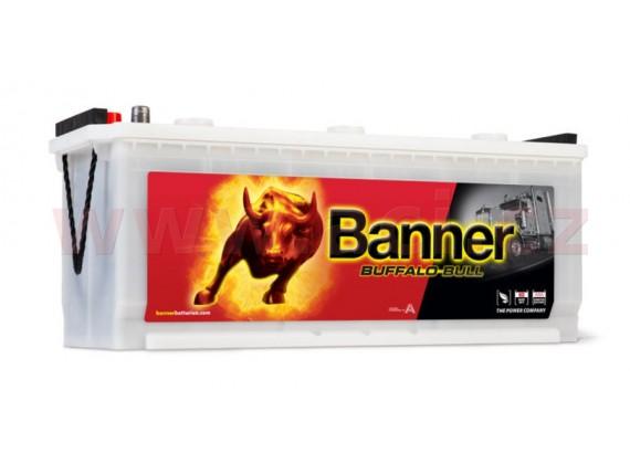 140Ah baterie, 760A, levá BANNER Buffalo Bull 514x189x195(220)