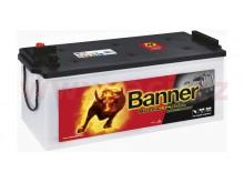 180Ah baterie, 1400A, levá BANNER Buffalo Bull 514x223x195(220) (s vysokým proudem)