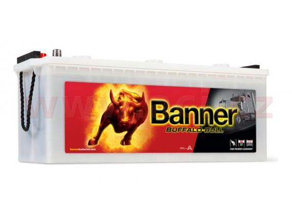 180Ah baterie, 950A, levá BANNER Buffalo Bull 514x223x195(220)