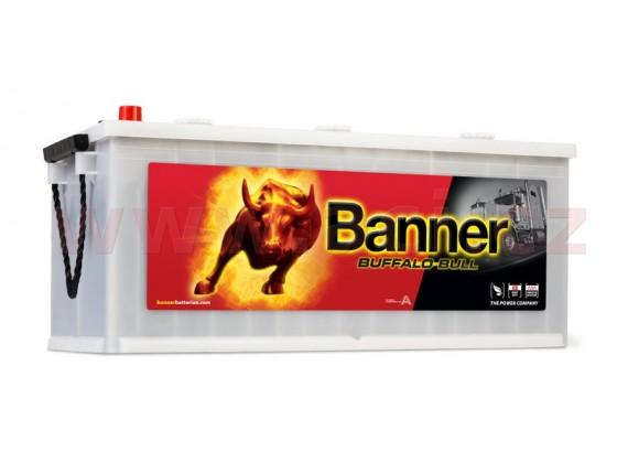 180Ah baterie, 950A, levá BANNER Buffalo Bull 510x216x205(225)