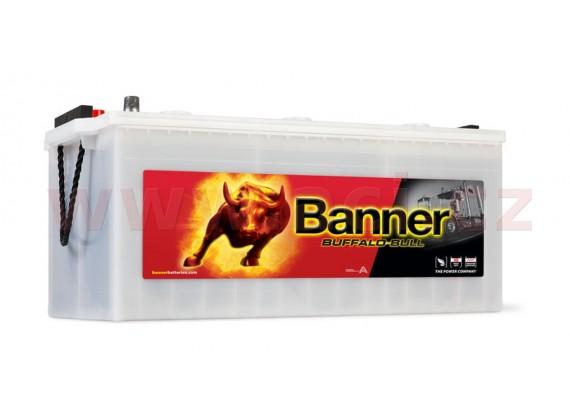 225Ah baterie, 1050A, levá BANNER Buffalo Bull 517x273x212(240)