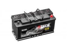 105Ah AGM baterie START-STOP, 950A, pravá A-TECH AGM 392x175x190
