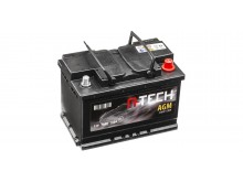 70Ah AGM baterie START-STOP, 760A, pravá A-TECH AGM 278x175x190