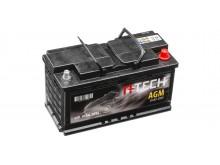 95Ah AGM baterie START-STOP, 850A, pravá A-TECH AGM 353x175x190