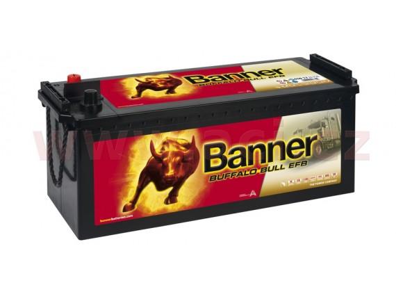 150Ah baterie, 850A, levá BANNER Buffalo Bull EFB 513x189x195(220)