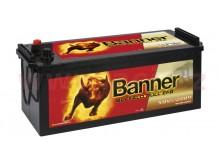240Ah baterie, 1200A, levá BANNER Buffalo Bull EFB 517x273x212(240)