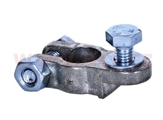 bateriová svorka - (Peugeot) s vrstvou olova 15.9 mm