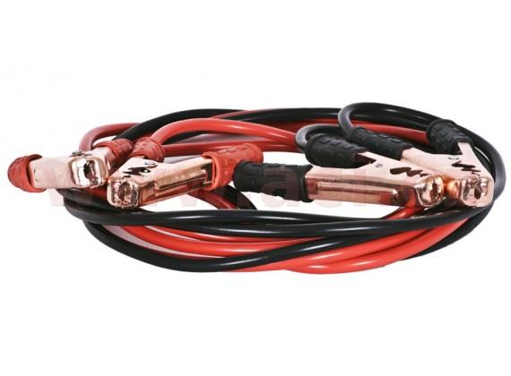 Startovací kabely pro osobní automobily - 600 A, délka 4 m, průřez 25 mm