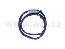 řetězový zámek COMBI CHAIN, OXFORD (modrý plášť, délka 0,9 m)