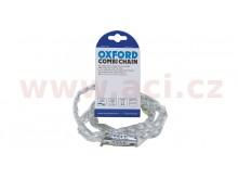 řetězový zámek COMBI CHAIN, OXFORD (čirý plášť, délka 0,9 m)