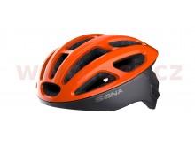 cyklo přilba R1, SENA (oranžová)