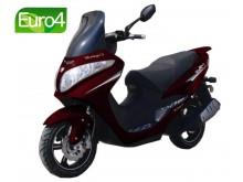 Grande Porto 125 - Červená  RY 078 (red)- EURO 4
