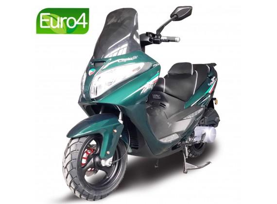 Grande Porto 125 - Zelená metalická RY 024- EURO 4