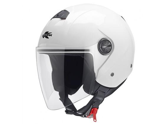 2 Helma otevřená KV26 - DAKOTA JET bílá lesklá