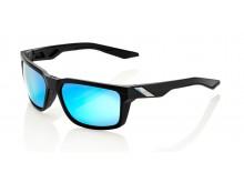 sluneční brýle DAZE černé, 100'% - USA (zabarvená modrá skla)