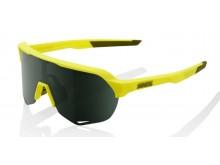 sluneční brýle S2 - zelené čočky, 100% (žlutá)