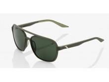 sluneční brýle KASIA - zelená čočka, 100% (zelená)