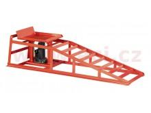 nájezdová rampa s hydraulickým zvedákem (auto / ATV / UTV)