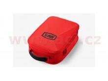 kufr na motokrosové brýle, 100% (červená)