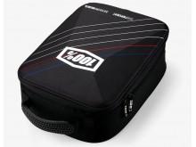 kufr na motokrosové brýle, 100% (černý)