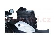 tankbag na motocykl S20R Adventure s popruhy, OXFORD - Anglie (černý, objem 20 l)