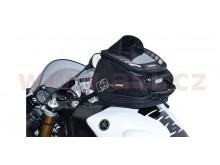 tankbag na motocykl Q4R QR, OXFORD - Anglie (černý, s rychloupínacím systémem na víčka nád