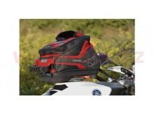 tankbag na motocykl Q4R QR, OXFORD - Anglie (černý/červený, s rychloupínacím systémem na v