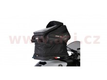 tankbag na motocykl Q15R QR, OXFORD - Anglie (černý, s rychloupínacím systémem na víčka ná