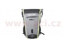 vodotěsný batoh Aqua B-25, OXFORD (černý/šedý/žlutý fluo, objem 25 l)