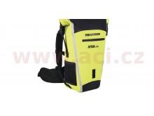vodotěsný batoh Aqua B-25, OXFORD (černý/žlutý fluo, objem 25 l)