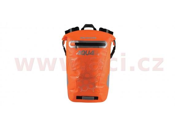 vodotěsný batoh AQUA V12, OXFORD (oranžová, objem 12 L)
