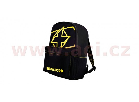 batoh X-Rider, OXFORD (černý/žlutý fluo, objem 15 l)