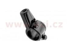adaptér zpětného zrcátka M10/1,25 pravý závit (22,2 mm průměr) (černý)