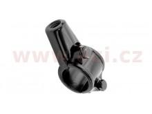 adaptér zpětného zrcátka M10/1,25 levý závit (22,2 mm průměr) (černý)