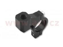 CNC adaptér zpětného zrcátka M10/1,25 levý závit (22,2 mm průměr) (černý)