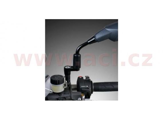 adaptér zpětného zrcátka M10/1,25 pravý závit (černý)