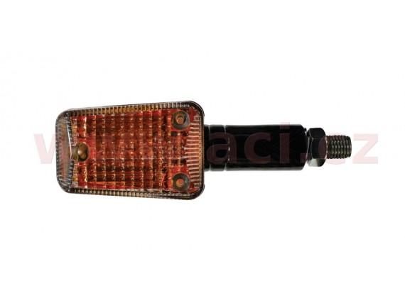 blinkr Mini dlouhý, OXFORD - Anglie (oranžové sklíčko, černý plášť, pár)