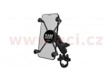 kompletní sestava držáku X-Grip pro větší mobilní telefony, šíře od 45mm do 114mm, RAM Mou