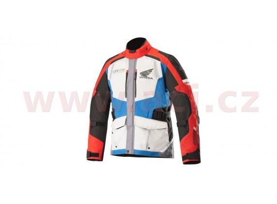 bunda ANDES Drystar HONDA kolekce, ALPINESTARS (šedá/červená/modrá)