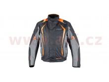 bunda Olpe, ROLEFF (černá/šedá/oranžová)
