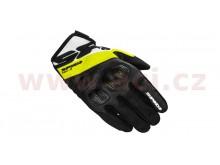 rukavice FLASH R EVO, SPIDI (černé/bílé/žluté fluo)