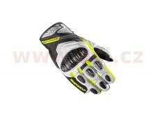 rukavice C4 COUPE, SPIDI (černá/bílá/žlutá fluo)