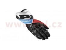 rukavice CARBO 4, SPIDI (černé/bílé/červené/modré)