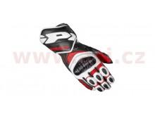 rukavice CARBO 7, SPIDI (červené/bílé/černé)