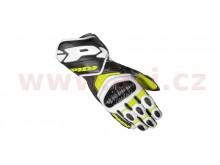 rukavice CARBO 7, SPIDI (žluté fluo/bílé/černé)