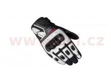 rukavice G-CARBON, SPIDI (bílé/černé)